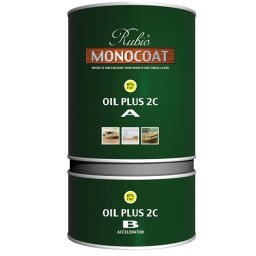 Rubio Monocoat Oil Plus 2C, White, 1.3 L