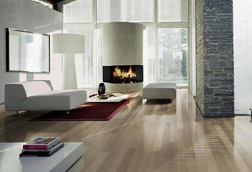Kahrs Fumoir Oak Engineered Wood Flooring, Lacquered, 130x3.5x15 mm