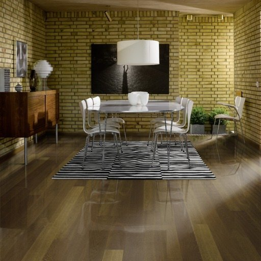 Kahrs Tabac Oak Engineered Wood Flooring, Lacquered, 130x3.5x15 mm