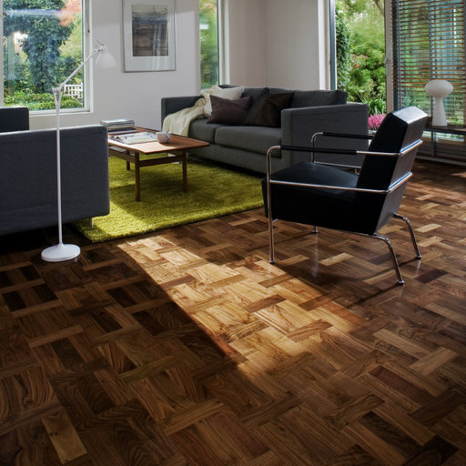Kahrs Palazzo Noce Walnut Engineered Wood Flooring, Lacquered, 198.5x3.5x15 mm