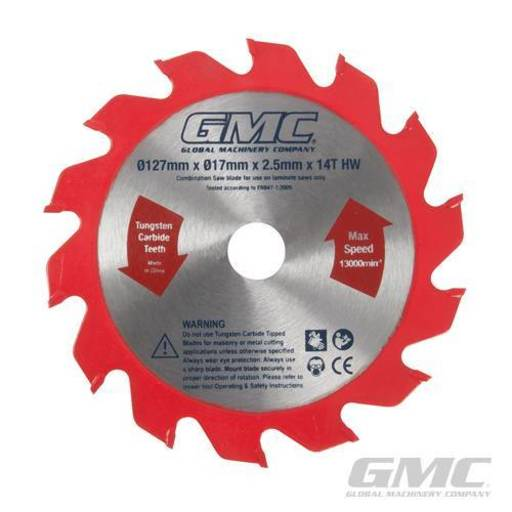 Portable Wood Flooring Saw Blade, 127x17x2.2 mm
