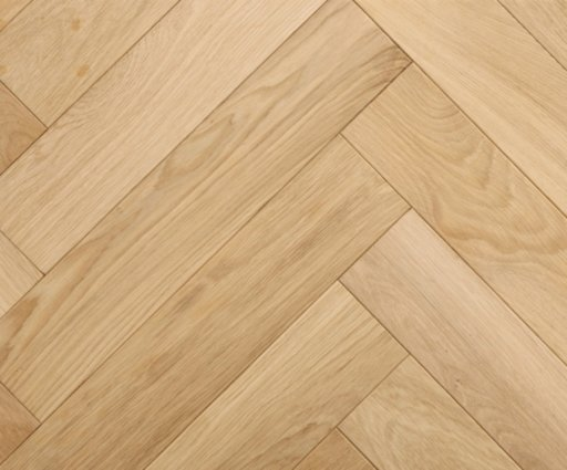 Tradition Classics Herringbone Engineered Oak Parquet Flooring, Prime, Unfinished, 100x20.6x500 mm