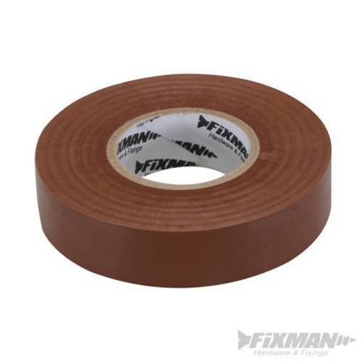 Insulation Tape, Brown, 19 mm x 33 m