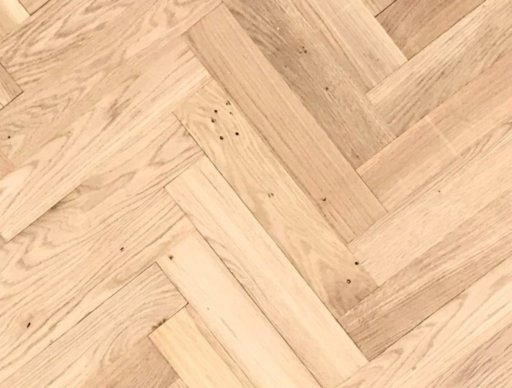 Tradition Classics Herringbone Engineered Oak Parquet Flooring, Unfinished, Rustic, 70x20.6x350 mm