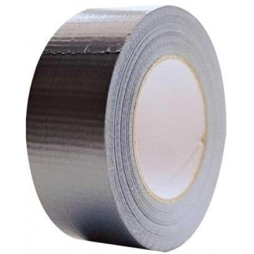 Heavy Duty Duct Tape, Silver, 50 mm, 50 m