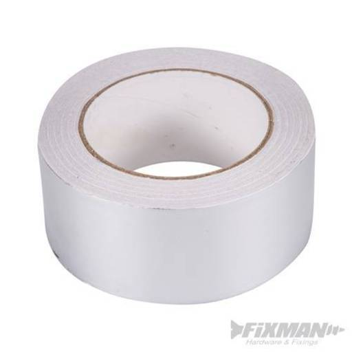 Aluminium Foil Tape, 50 mm, 45 m