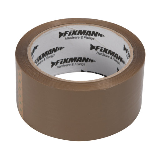 Packing Tape, Brown, 48 mm, 66 m