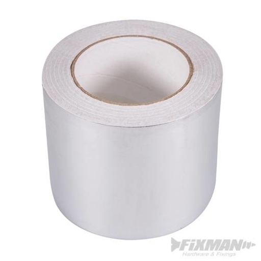 Aluminium Foil Tape, 100 mm, 50 m