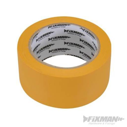 Builders Tape Yellow, 50 mm, 33 m