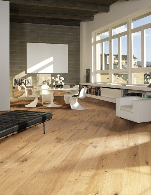 Kahrs Grande Casa Oak Engineered Wood Flooring, Oiled, 260x6x20 mm