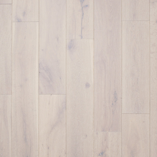 Spectra Pure White Oak Engineered Flooring, Brushed, Lacquered, Rustic, 150x4x18 mm