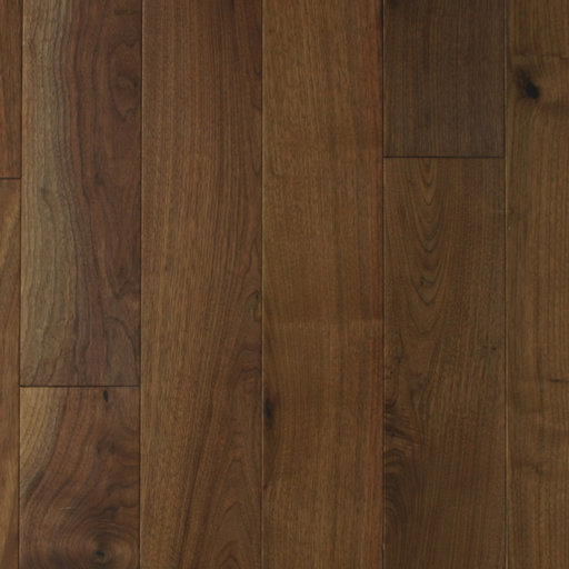 Spectra American Black Walnut Engineered Flooring, Lacquered, Rustic, 150x4x18 mm