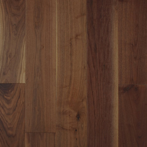 Spectra American Black Walnut Engineered Flooring, Lacquered, Rustic, 191x4x18 mm