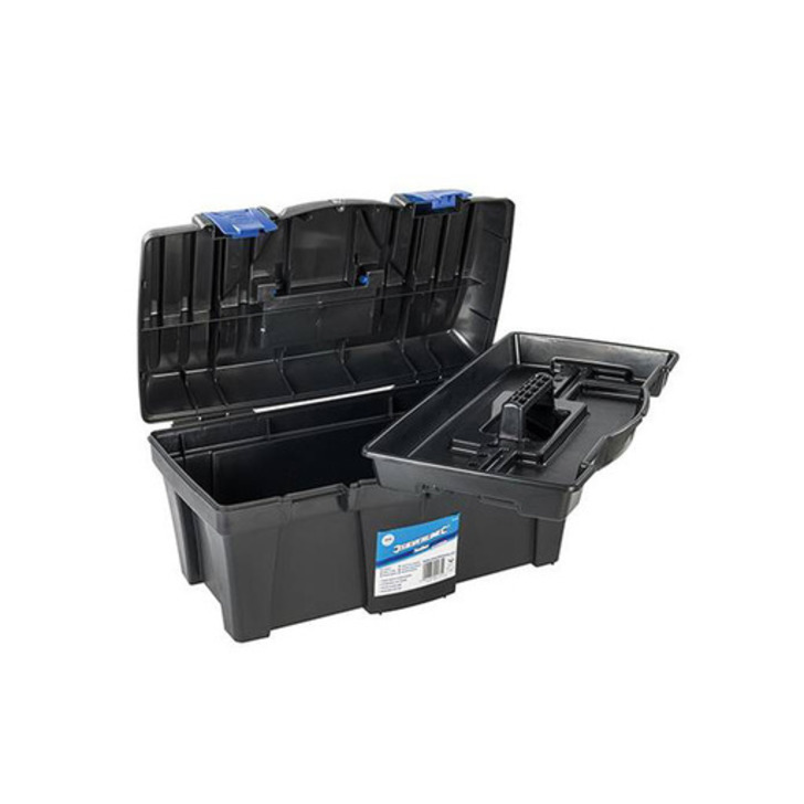 Silverline Toolbox, 460x240x225 mm