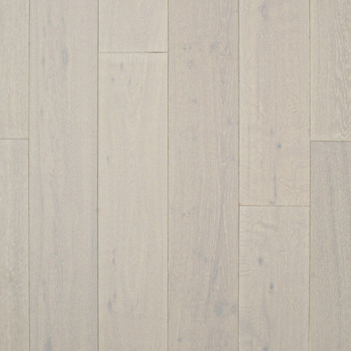Spectra Pure White Oak Engineered Flooring, Brushed, Lacquered, Rustic, 189x4x18 mm