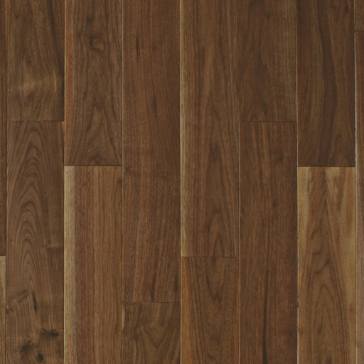 Spectra American Black Walnut Engineered Flooring, Lacquered, Rustic, 125x4x18 mm