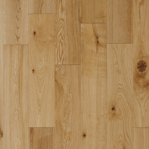 Spectra Engineered Oak Flooring, Lacquered, Rustic, 125x4x18 mm