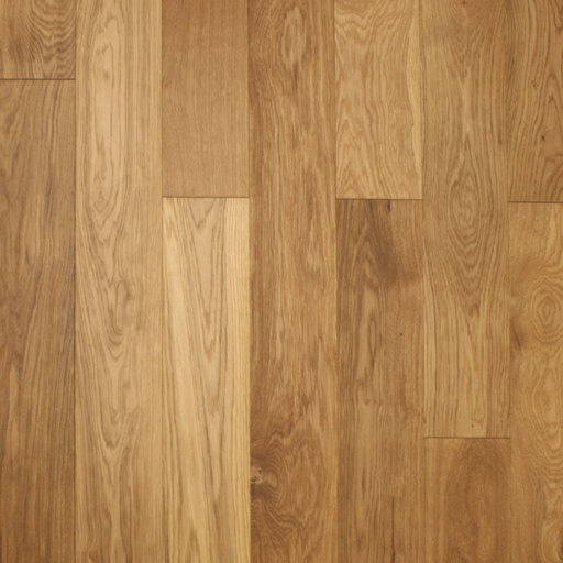 Spectra Engineered Oak Flooring, Brushed, Lacquered, Rustic, 150x4x18 mm