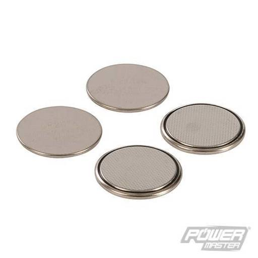 Powermaster Lithium Button Cell CR2016 4pk