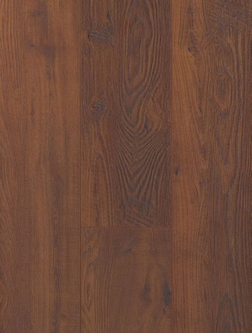 Canadia Prestige Yukon Smoked Oak Wood Grain 4V Laminate Flooring, 12.3 mm