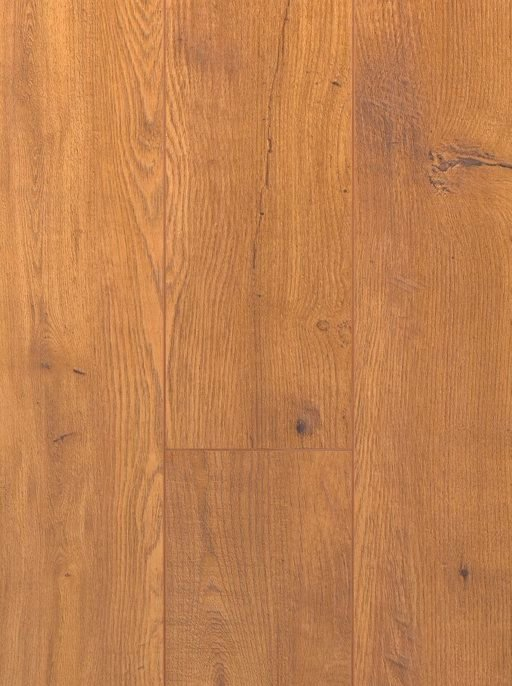 Canadia Prestige Yukon Oak Wood Grain 4V Laminate Flooring, 12.3 mm