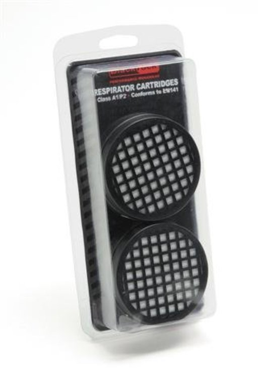 Replacement Filters for Twin Filter Re-usable Respirator