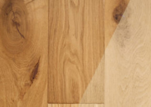 Tradition Brushed Oak Engineered Flooring, Rustic, Unfinished, 14x3x190 mm