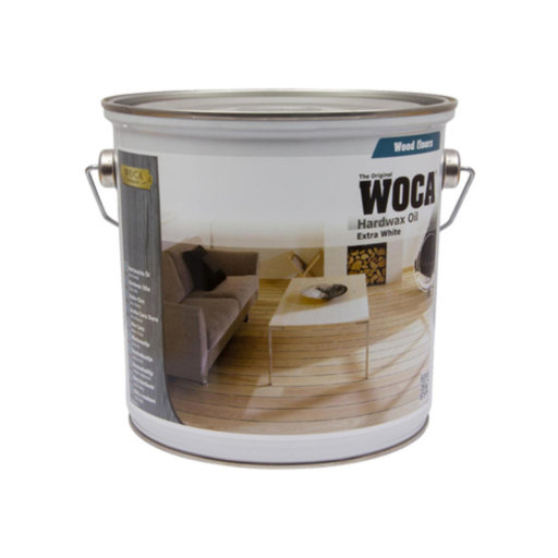 WOCA Hardwax-Oil, Extra White, 1 L