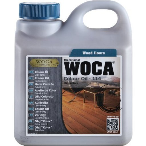 WOCA Colour Oil 119, Walnut, 2.5L