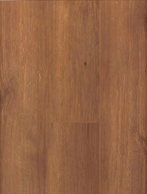 Canadia Prestige Smoked Oak Wood Grain 4V Laminate Flooring, 12.3 mm