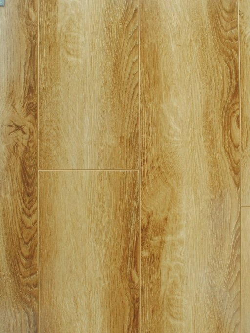 Canadia Prestige Rustic Oak Wood Grain 4V Laminate Flooring, 12.3 mm