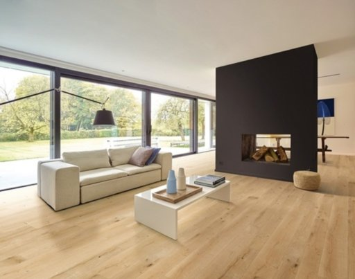 Balterio Grande Narrow Linen Oak Laminate Flooring, 9 mm