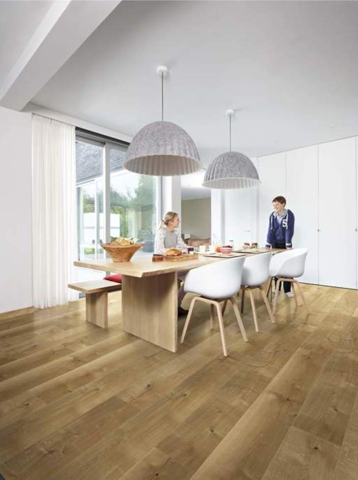 Balterio Grande Wide Classic Oak Laminate Flooring, 9 mm