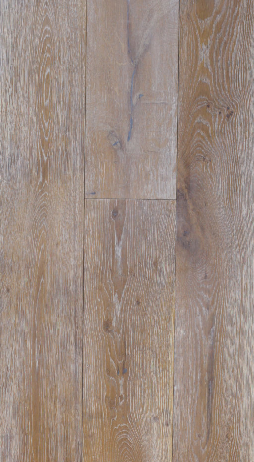 Tradition Classics Engineered Oak Flooring, Rustic, Smoked, Brushed & White Oiled, 190x20x1900 mm