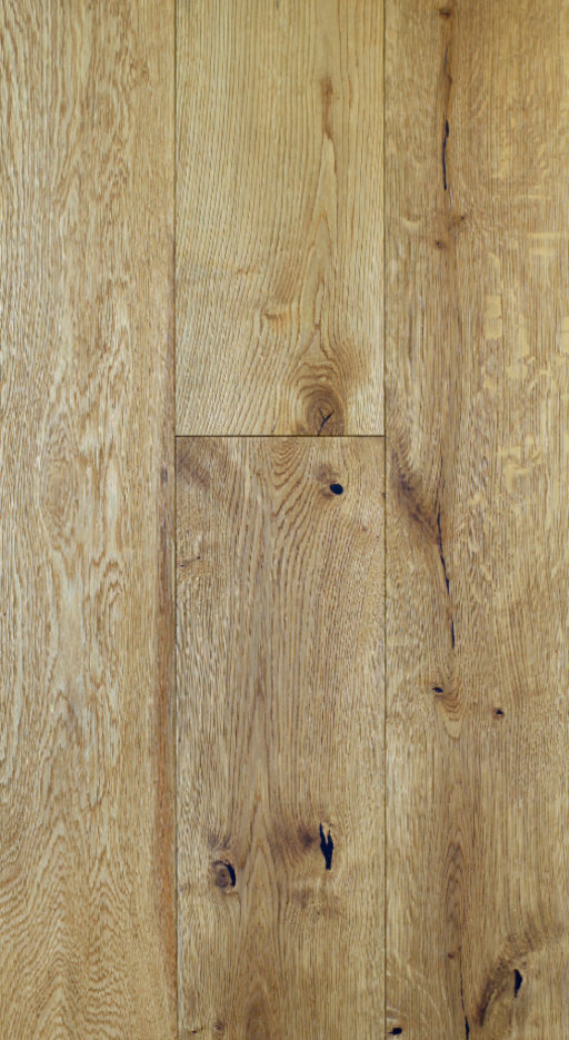 Tradition Classics Engineered Oak Flooring, Rustic, Brushed & Matt Lacquered, 190x20x1900 mm
