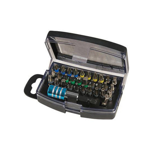 Silverline Colour-Coded Bit Set (32 pcs)