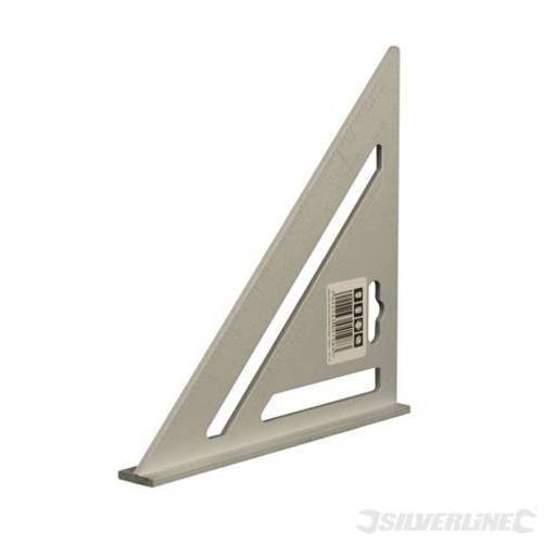 Heavy Duty Aluminium Roofing Rafter Square, 185 mm