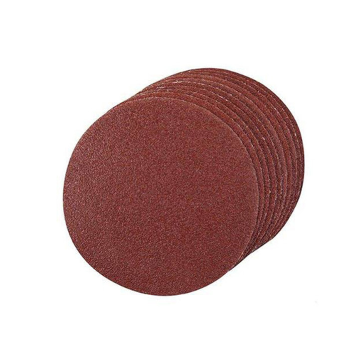 Silverline Single Sided 60G Sanding Disc, 125 mm, Velcro