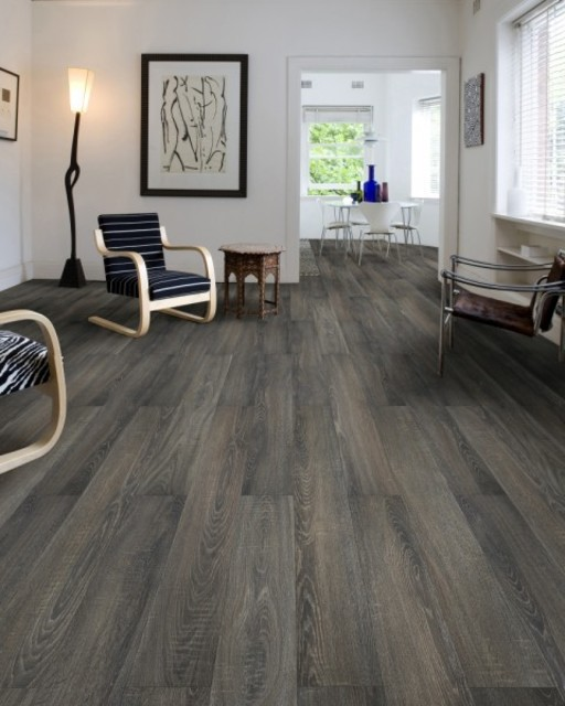 Canadia Prestige Charcoal Grey Oak 4v Laminate Flooring