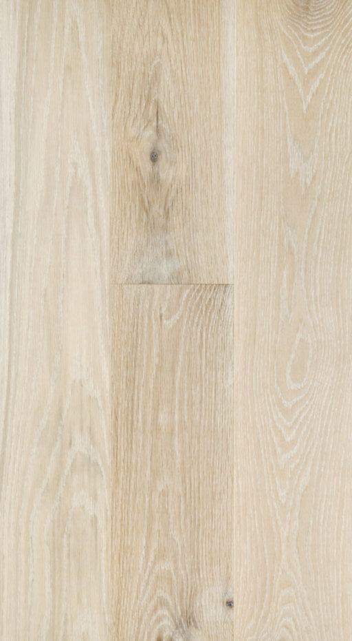 Tradition Classics White Stained Engineered Oak Flooring, Brushed, Matt Lacquered, 13.5x185x2130 mm