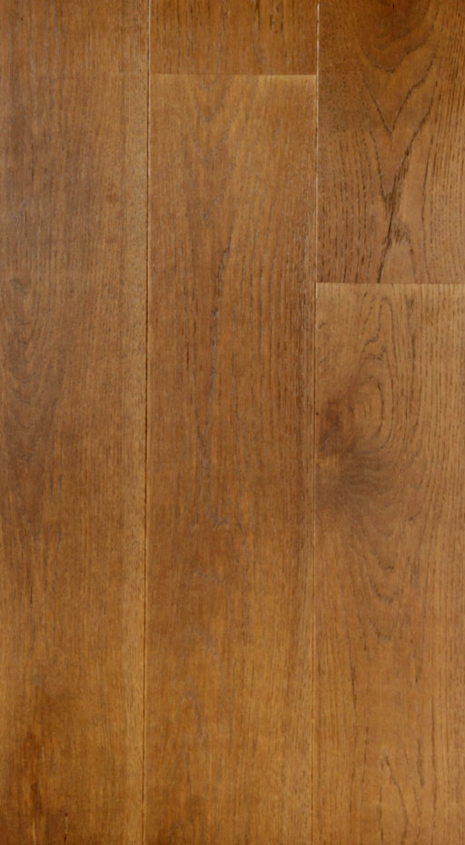 Tradition Classics Autumn Stained Engineered Oak Flooring, Brushed, Matt Lacquered, 13.5x185x2130 mm