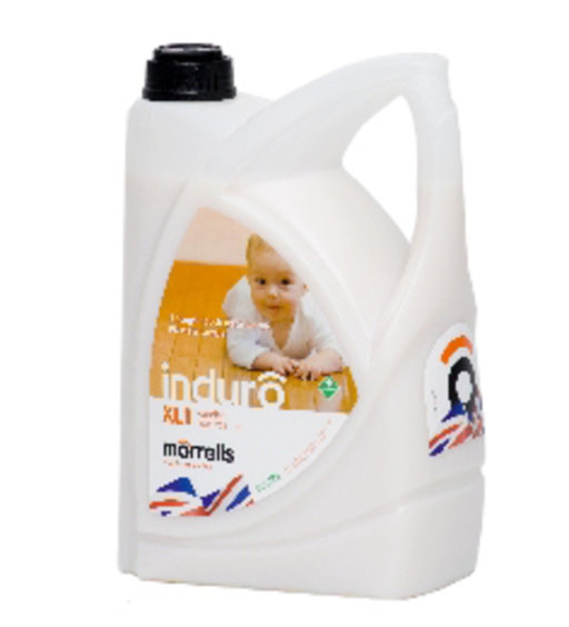 Morrells Induro XL1, Satin Anti-Bacterial Waterbased Varnish, 5L