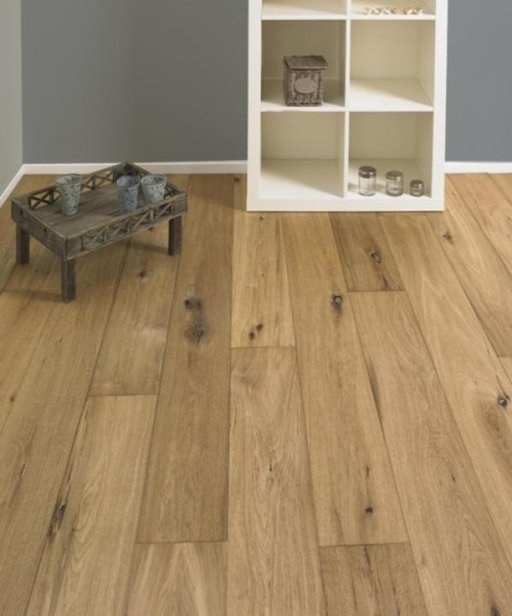 Tradition Classics Bergerac Engineered Oak Flooring, Smoked, Handscraped, Oiled, 15x190x1900 mm