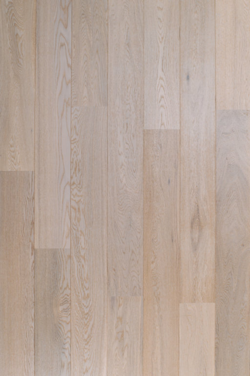 Tradition Classics Witmat Clic Engineered Oak Flooring, Rustic, Brushed & White Matt Lacquered, 189x15x1860 mm