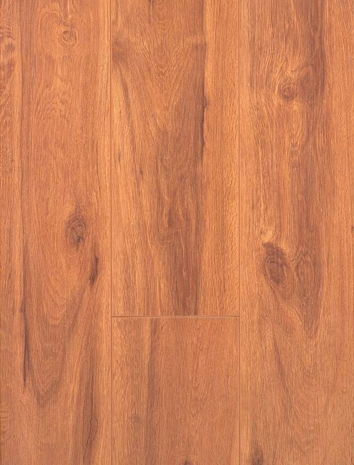Canadia Prestige Hudson Oak Wood Grain 4V Laminate Flooring, 12.3 mm