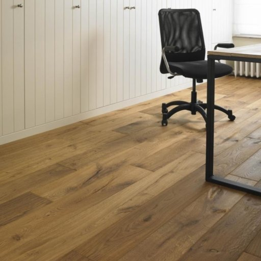 Tradition Classics Graves Engineered Oak Flooring, Smoked, Handscraped, Oiled, 15x189x1850 mm