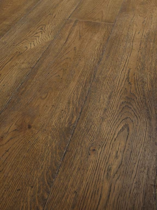 Tradition Classics Pauillac Engineered Oak Flooring, Rustic, Brushed, Distressed & Lacquered, 220x15x2200 mm