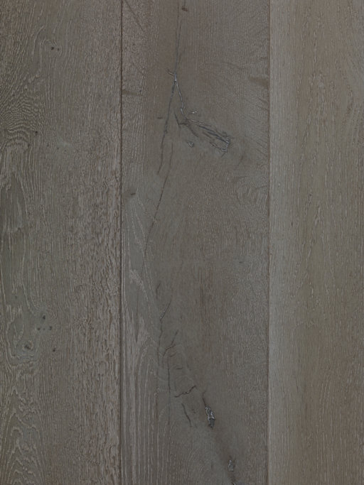 Tradition Classics Bourgogne Engineered Oak Flooring, Smoked, Stained, Brushed and Oiled, 14x190x1900 mm