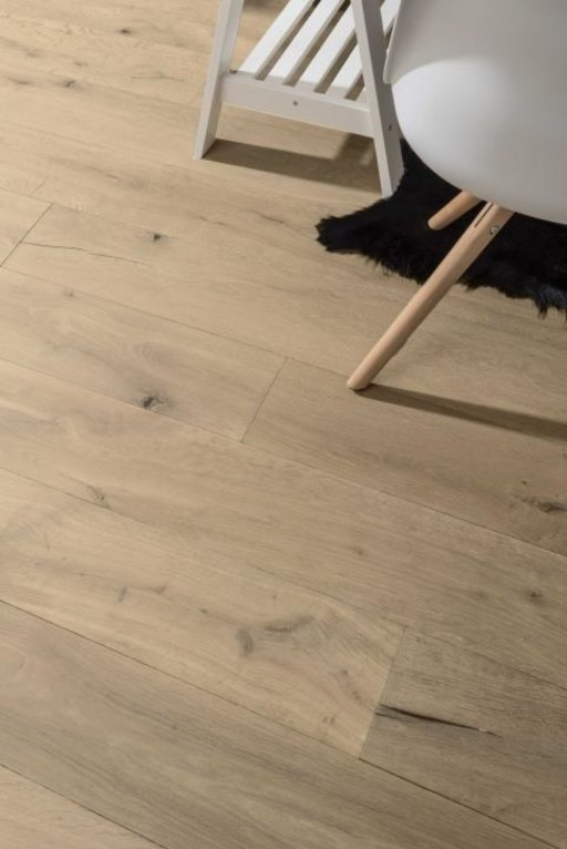 Tradition Classics Abruzzo Engineered Oak Flooring, Smoked, Brushed, Invisible Oiled, 14x190x1900 mm