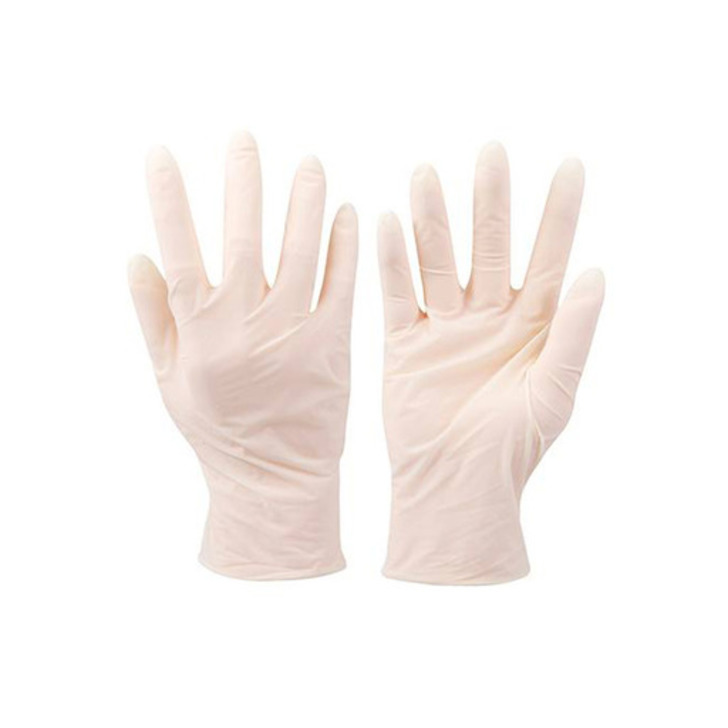 Silverline Latex Gloves (Large), Pack of 100